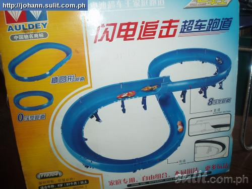 Auldey DIY Race Track