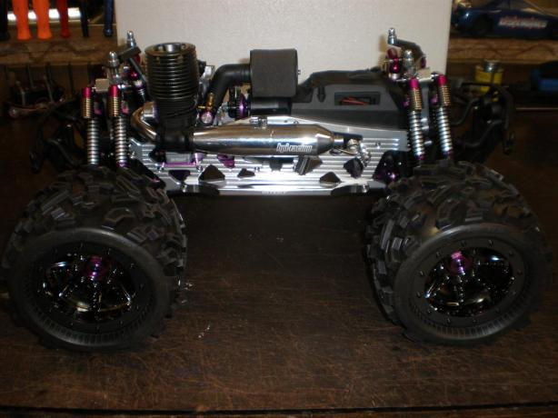 Kick-Ass Highly-Modded HPI Savage X For Sale or Trade