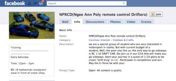 NPRCD (Ngee Ann Poly remote control Drifters)