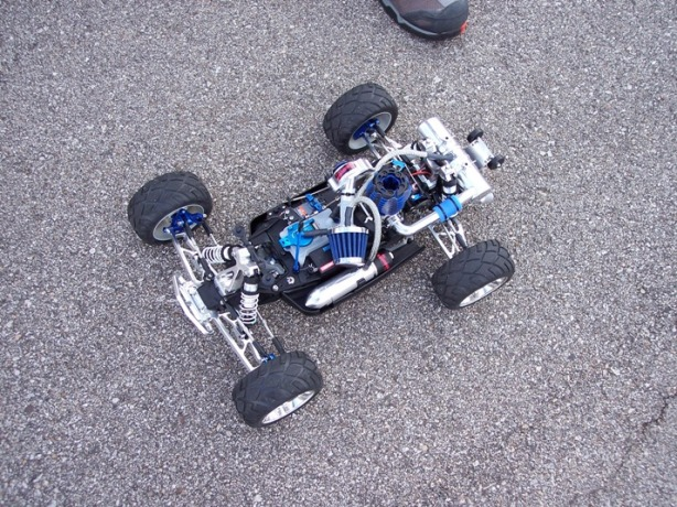 Traxxas Jato with RB Innovations Supercharger + NO2