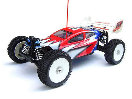 BSD Racing BS802T | OEM Redcat Racing Backdraft 3.5 (Side View)
