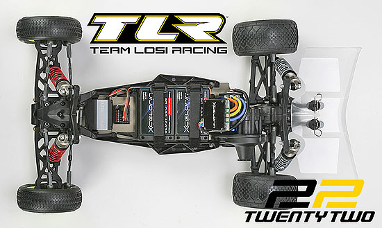 Team Losi Racing's Totally New TLR22 2wd Race-Ready Buggy