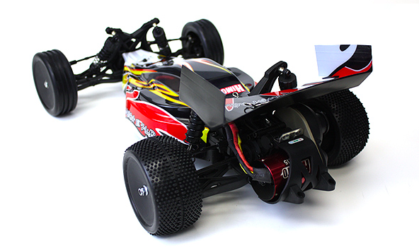Back View of the Twister XB, ahem... I meant Himoto 2wd