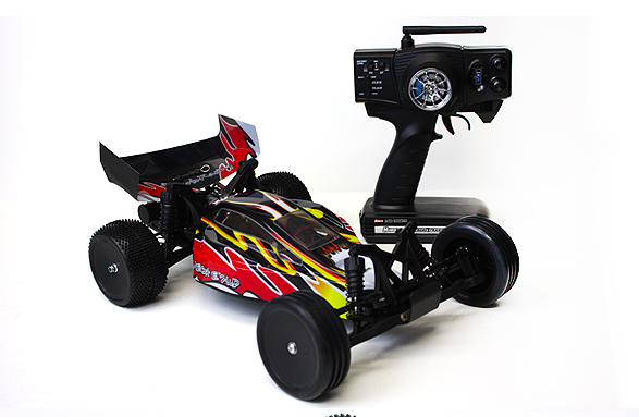 Himoto Brushless 2wd with 2.4ghz Radio
