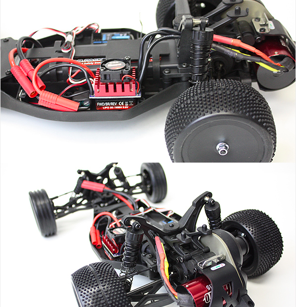 Beneath the Body Shell : Himoto 2wd Brushless / Redcat Twister XB