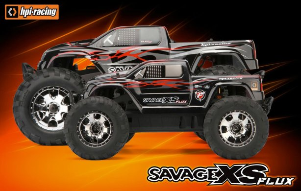 New for 2011: Hpi Savage XS Flux