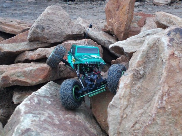 HSP 1/8 Scale RockCrawler